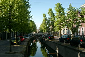 Gracht in Franeker