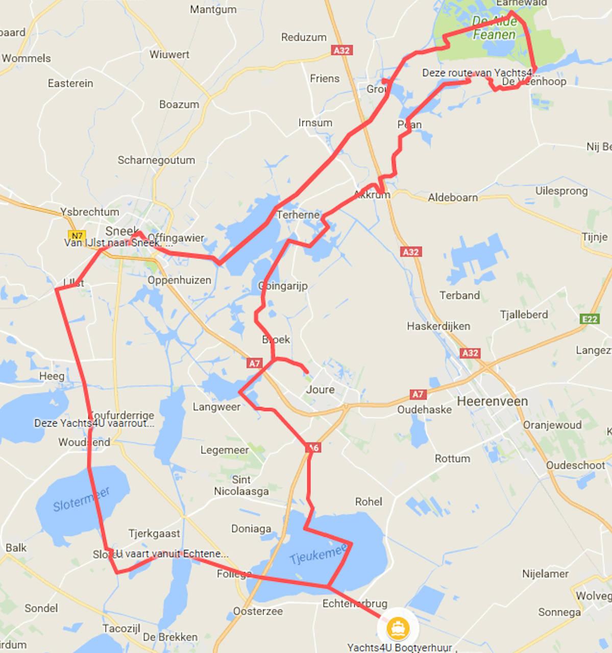 Mooie Vaarroutes In Friesland Overijssel En Groningen Yachts4u
